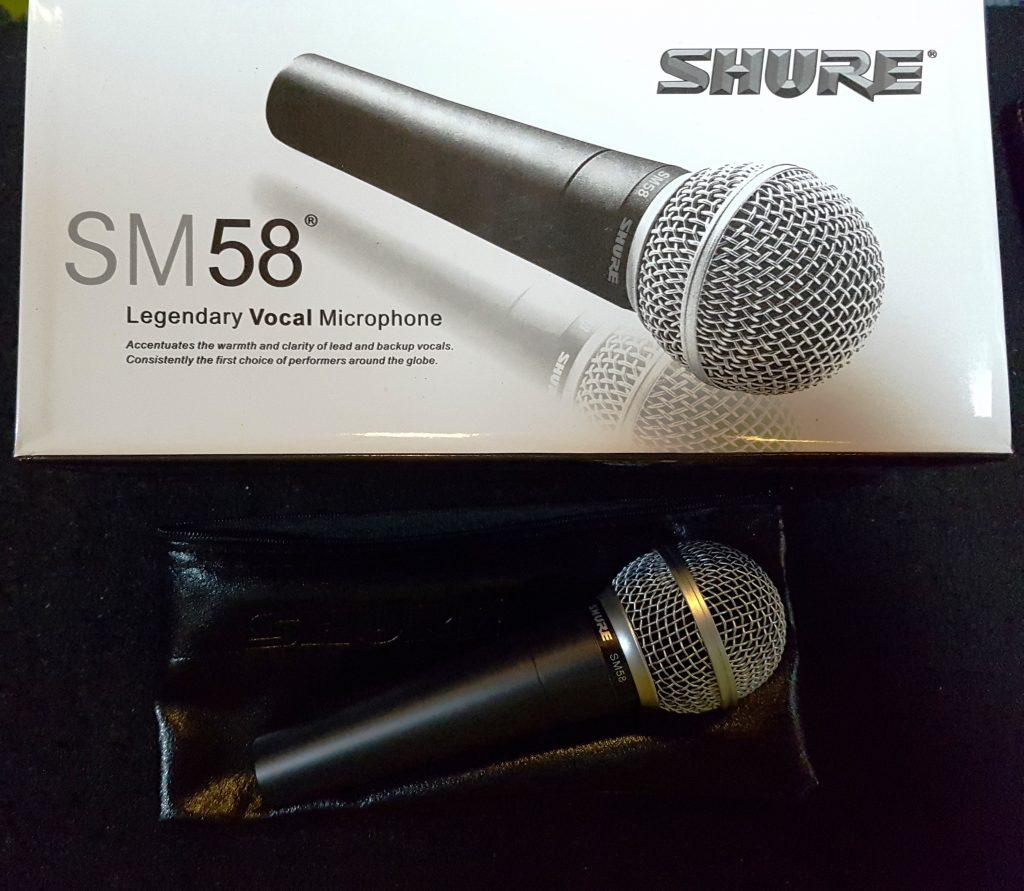 میکروفون شور - Shure SM58