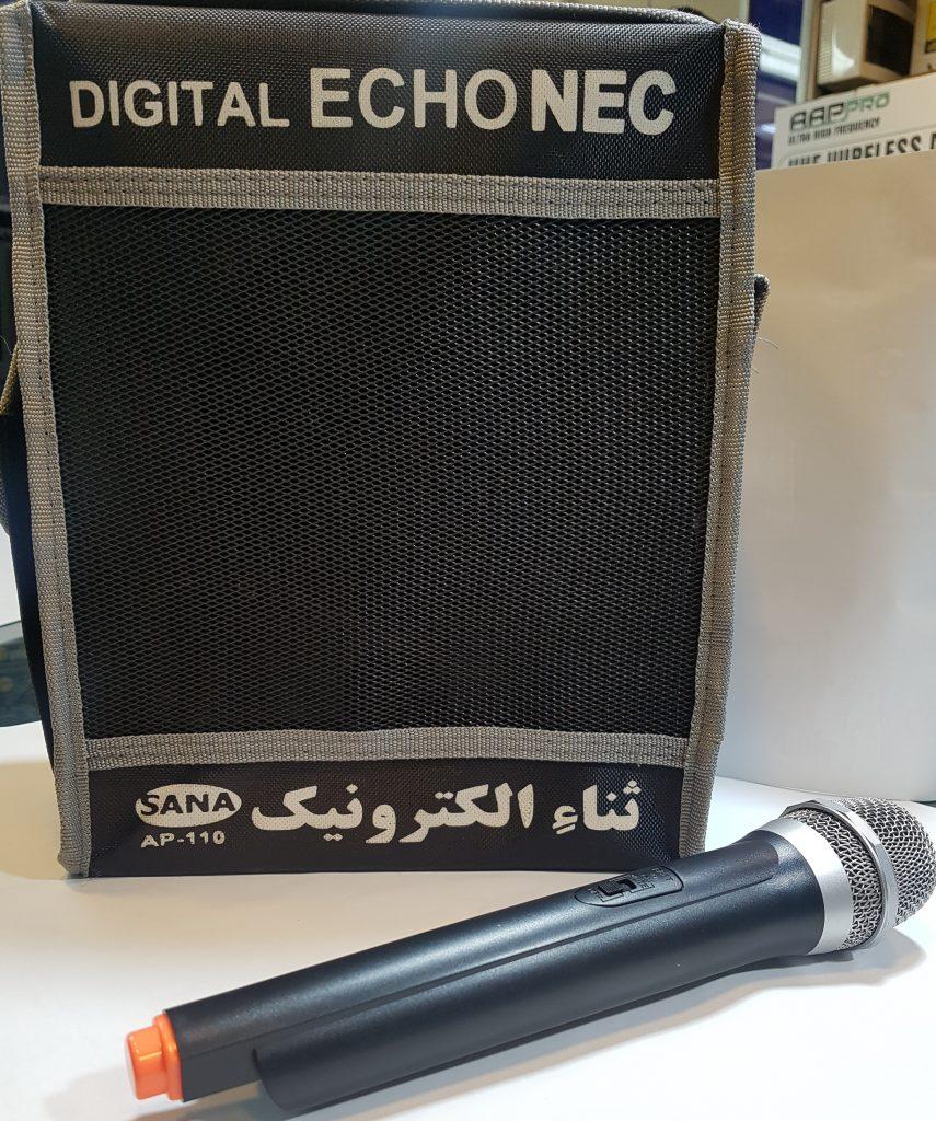 اکو پرتابل دارای میکروفون بیسیم NEC- S110